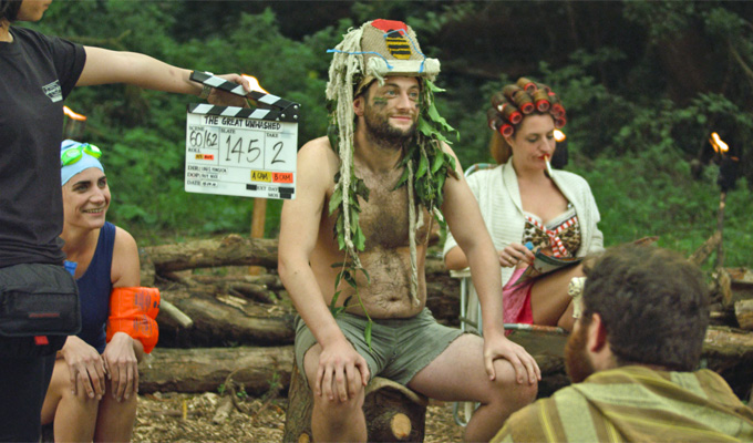 Comics star in new 'hippy' movie | Filming just completed in Wales