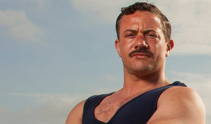 The man of La Manche... | Comedy names in movie about Channel-swimming hero