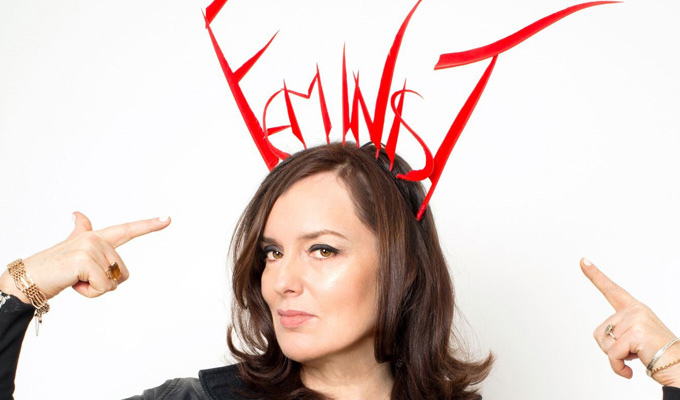 Deborah Frances-White pens Guilty Feminist book | With contributions from fellow comedians