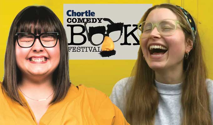 More names join the Chortle Comedy Book Festival | Including Jessie Cave, Sofie Hagen and Jonathan Coe