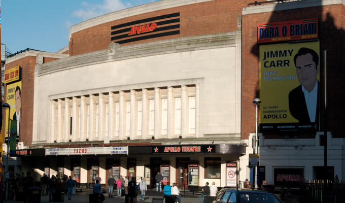 Hammersmith Apollo closes for refit | Venue being restored to 30s glory