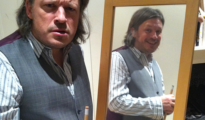 Richard Herring joins 'extreme art' festival | The avant garde world goes snooker loopy