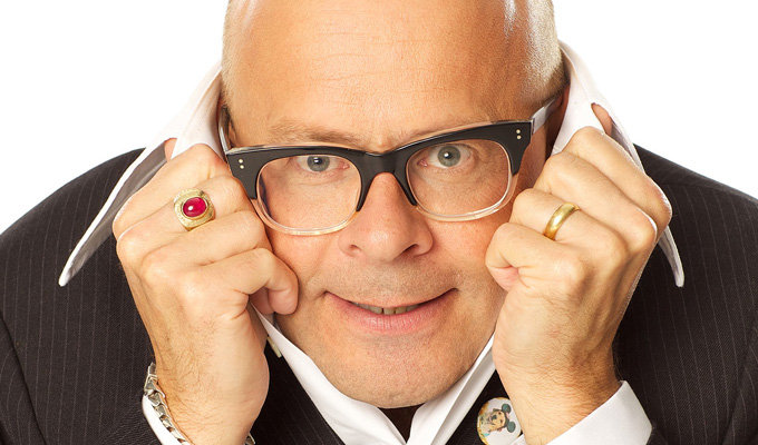 Dropped: Planned sitcom with Jennifer Saunders as Harry Hill's mum | ...as he reveals who he asked to replace him on TV Burp