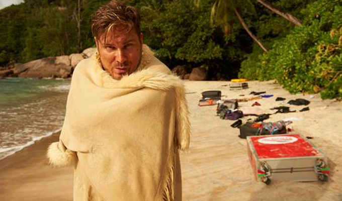E4 picks up Marc Wootton's desert island sitcom | High & Dry shoots in the Seychelles