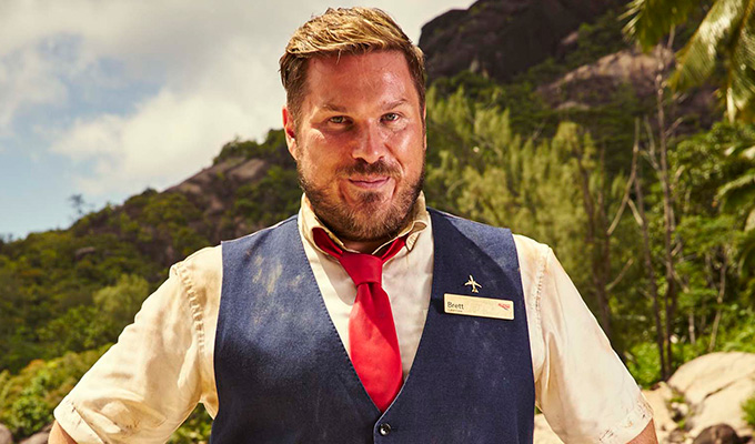 'I'm not sure being on a paradise island saying words is that hard...' | Marc Wootton on his new Channel 4 comedy High And Dry