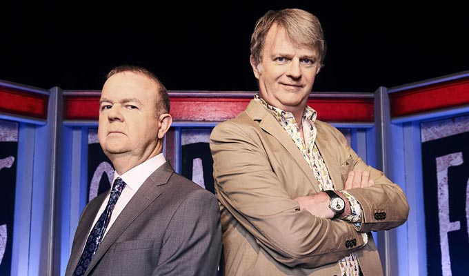 Have I Got News For You gets its studio audience back | ...but they'll be in a different room!