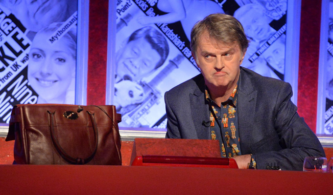 'Trousergate' MP replaced by a handbag | Have I Got News For You joke at Nicky Morgan's expense