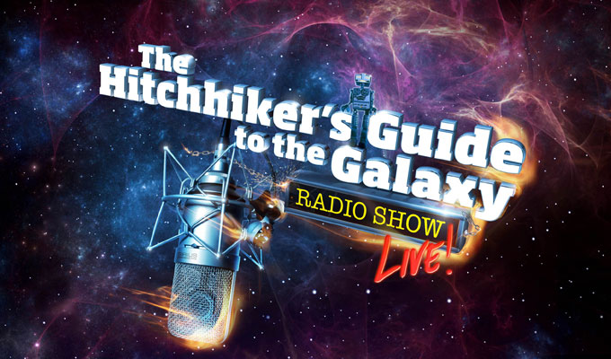 Hitch a ride with us... | Win tickets to Hitchhikers Guide Live