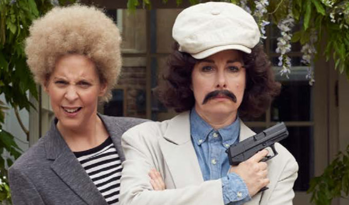 'I can take apart and put together a 9mm pistol in under seven seconds' | Mel and Sue on their new Sky comedy, Hitmen