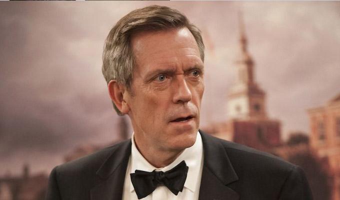 Hugh Laurie joins Arma...