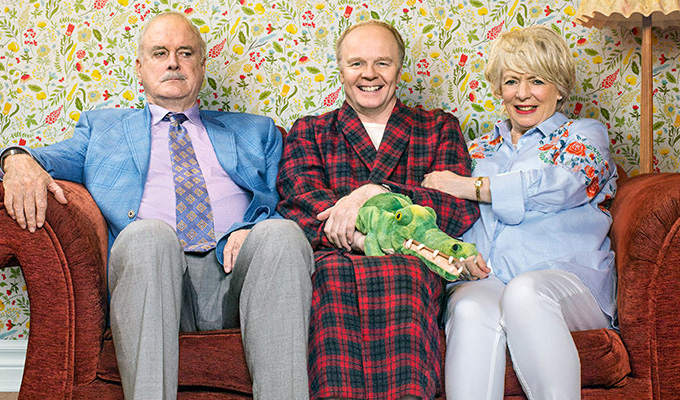 Big ratings for Hold The Sunset | But John Cleese's sitcom return divides critics