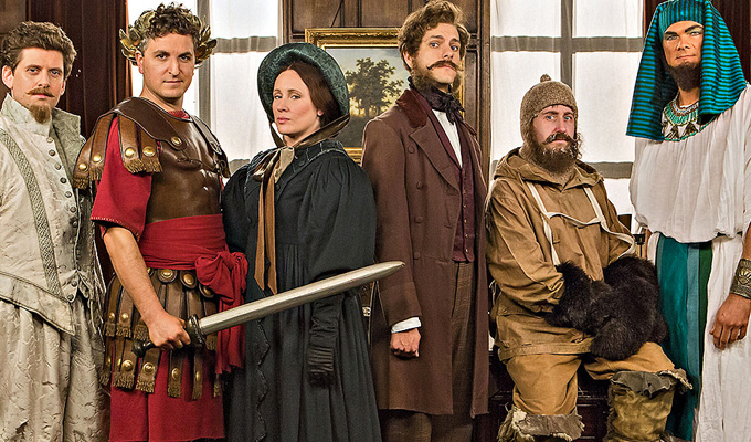 Rowan Atkinson joins Horrible Histories  | Kids' sketch show makes a comeback