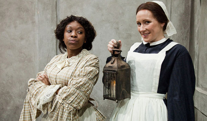 BBC pulls 'insulting' Horrible Histories sketch | Skit implied Florence Nightingale was racist