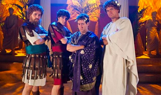 Horrible Histories heads to the big screen | Film version set in Roman Britain