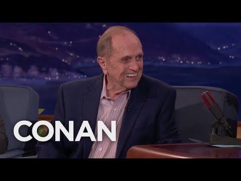 Bob Newhart on the comic who stole his material | Appearing on Conan
