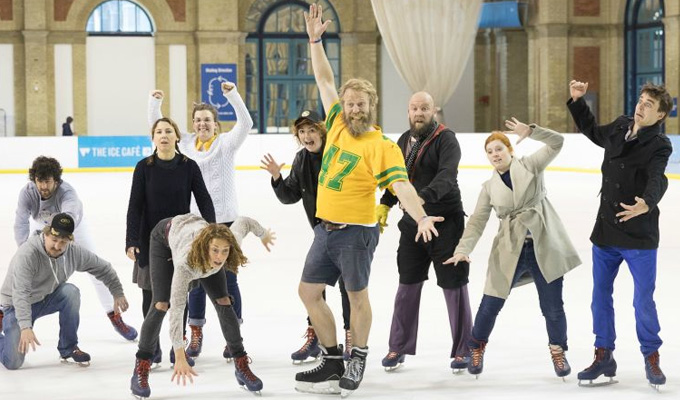 See comedians - on ice! | Exclusive gallery and video from The Battle for Icetopia