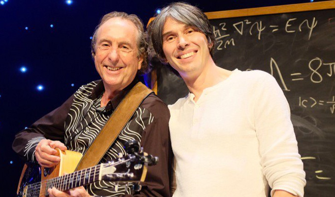 Eric Idle and Brian Cox to explain the universe | With Noel Fielding and Robin Ince
