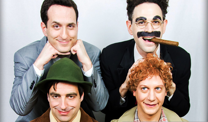 Marxism rises again... | 'Lost' Marx Bros revue is revived