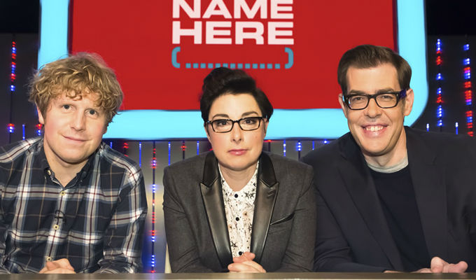 BBC renews Insert Name Here | Second series for Perkins, Osman and Widdicombe