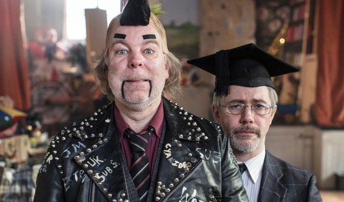 New BBC deal for  Reece Shearsmith and Steve Pemberton | Duo developing new comedy ideas