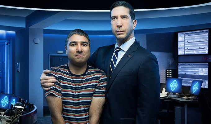 Intelligence | Preview of Sky's new Nick Mohammed and David Schwimmer comedy