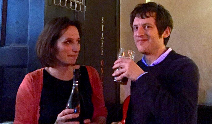 'Elis, I love you. Will you marry me?' | Isy Suttie and Elis James get engaged