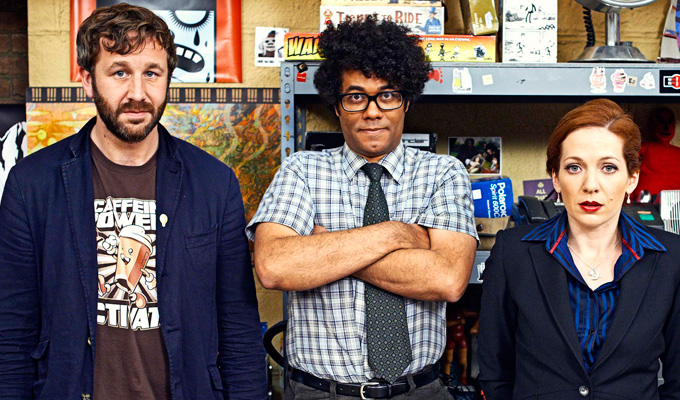 Bafta double for IT Crowd | Parkinson and Ayoade scoop awards