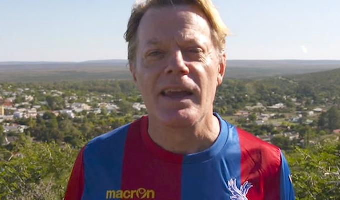 Eddie Izzard: My homophobic abuse at FA Cup Final | Crystal Palace fan called him 'a disgrace'