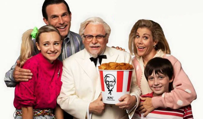 Jason Alexander is Colonel Sanders | In a bizarre new KFC promo