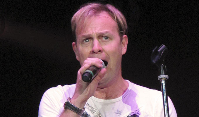 Jason Donovan replaces Christopher Biggins | Last-minute stand-in at Slapstick festival