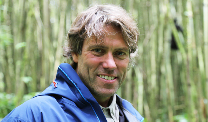 John Bishop and the gorillas | Comic films ITV wildlife documentary
