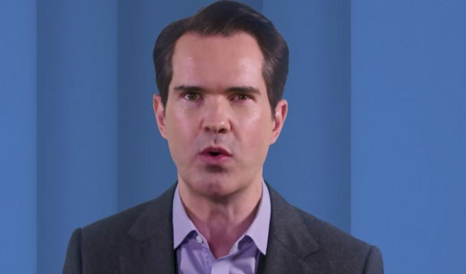 Jimmy Carr keeps hosting quiz shows.. even from home | Today's comedy on-demand picks