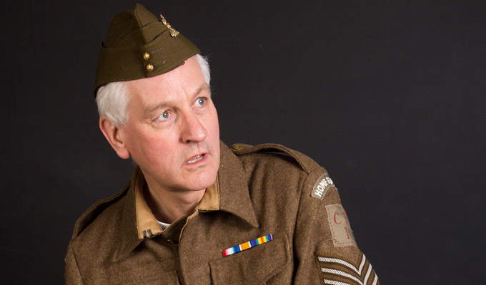 Don't panic! Actor gets his stolen Dad's Army uniform back | Nicked props are dumped a bush