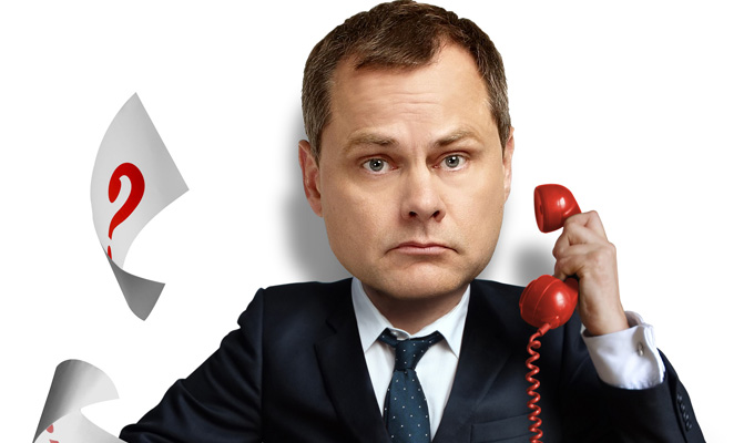 Jack Dee's Helpdesk comes to TV | Three Election specials
