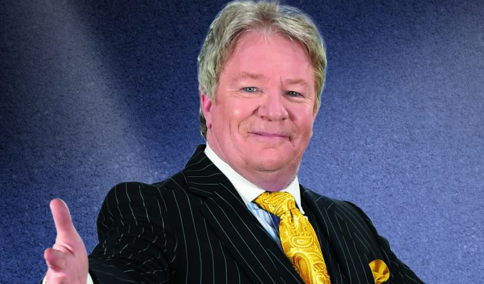 Jim Davidson Is On The Road Again