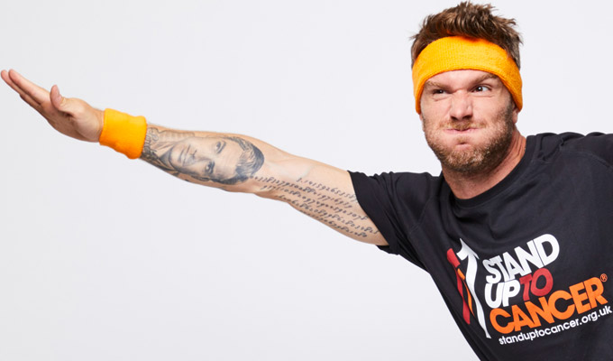 Joel Dommett to gatecrash 100 Edinburgh shows in one day | For Stand Up To Cancer