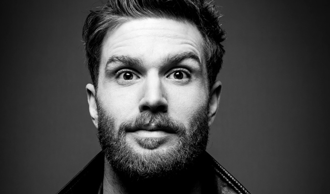 Joel Dommett: Pretending to Smoke With a Breadstick