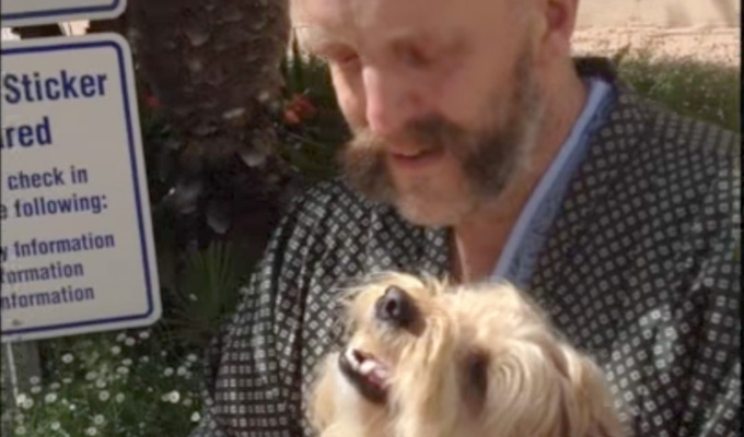 Jim Tavare reunited with his dog | Watch the touching video...