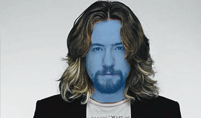 Justin Lee Collins goes blue | Friday Night Project host joins the Blue Man Group