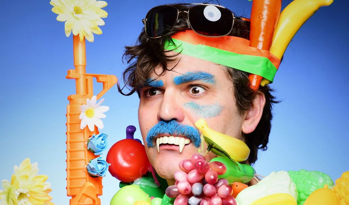John-Luke Roberts: All I Wanna Do Is [FX: GUNSHOTS] With A [FX: GUN RELOADING] And A [FX: CASH REGISTER] And Perform Some Comedy! | Edinburgh Fringe review by Steve Bennett