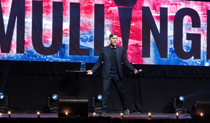 'Unknown' comic outsells Seinfeld – again | Second hometown arena gig for James Mullinger