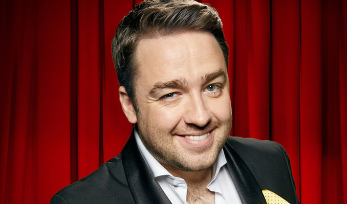 Jason Manford ties the knot | ...and then heads straight out for a curry