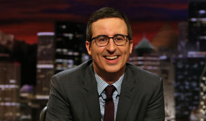 Revealed: Why John Oliver had to go to America to find success | Apparently his accent is more acceptable there...