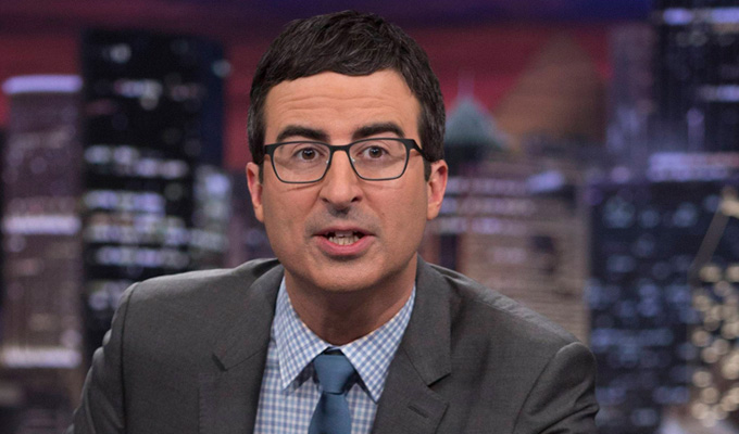 John Oliver tops the bestseller chart | With a book designed to wind up Mike Pence