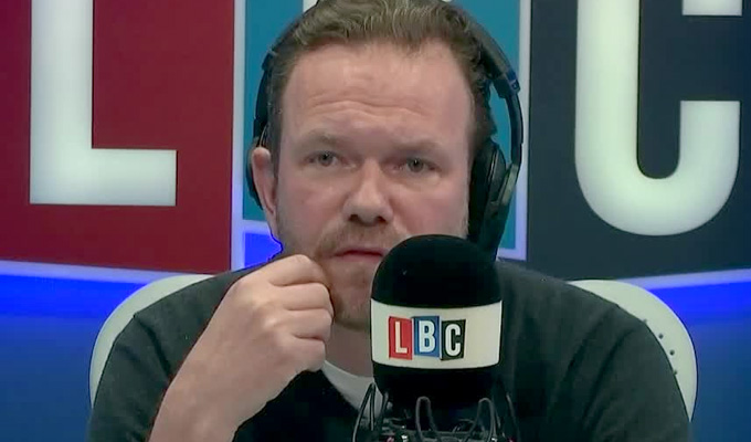The night a comedian 'humiliated' LBC's James O'Brien | ...and he's still stewing over it 26 years on...