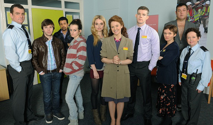 ITV signs on for The Job Lot again | Third series of unemployment office sitcom