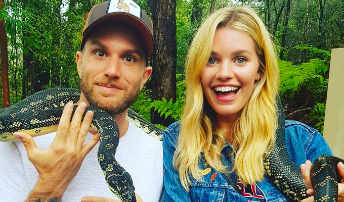'I'm a very lucky lad' | Joel Dommett gets engaged to his model girlfriend