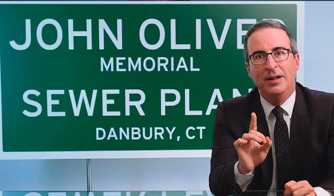 It's a dung deal! | John Oliver gets his sewerage plant