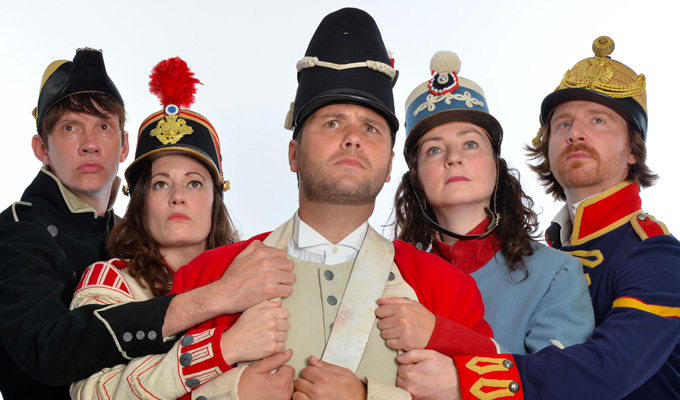 John Finnemore to tour | With the cast of his Radio 4 sketch show