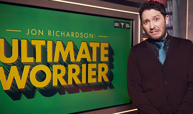'Lucky Wiggle seems to have some sort of depression issue' | Jon Richardson on the things he worries about…